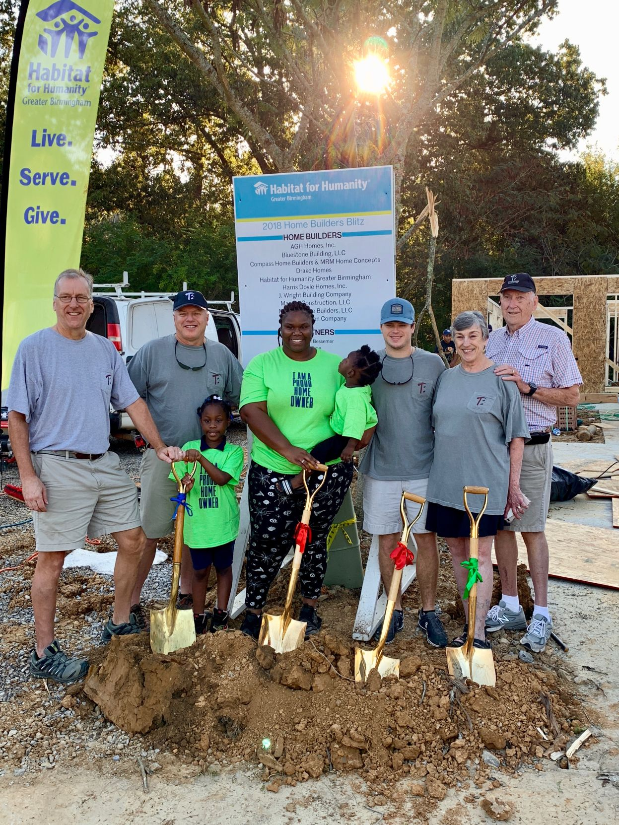 habitat for humanity hold ground breaking for home builders blitz in rh thecutoffnews com