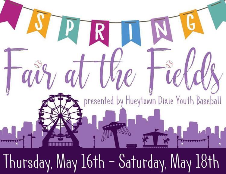 Fair At The Fields - Thursday, May 16th - Saturday, May 18th