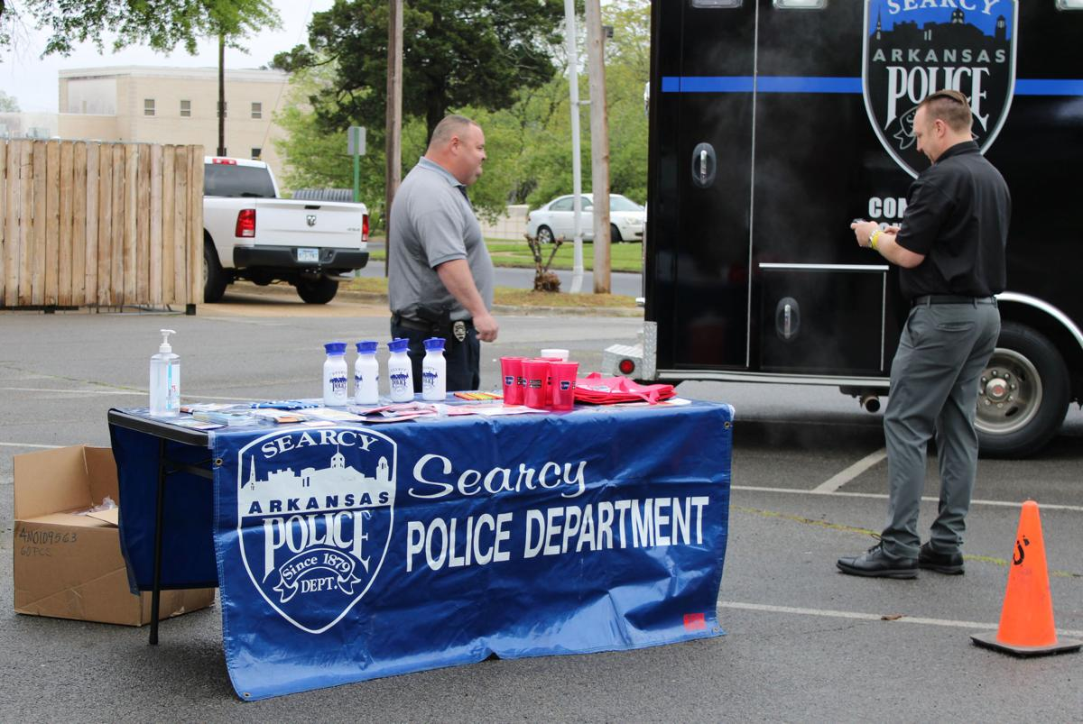 Community outreach vehicle unveiled
