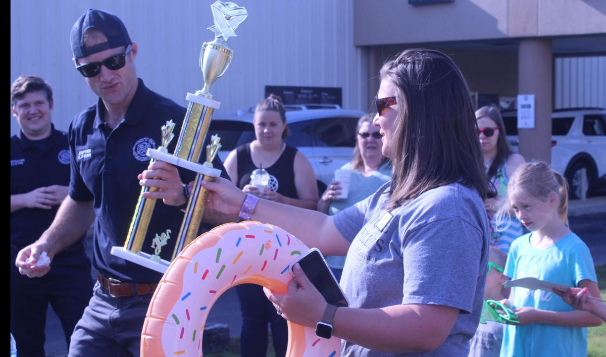 Searcy Fire Department wins doughnut contest