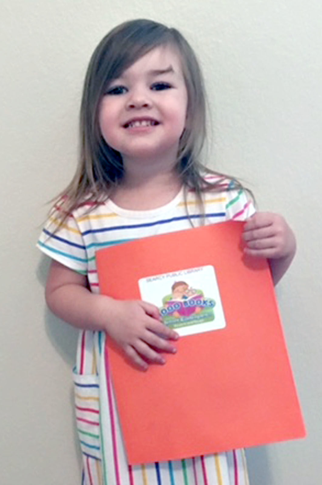 Two complete 1,000 Books Before Kindergarten