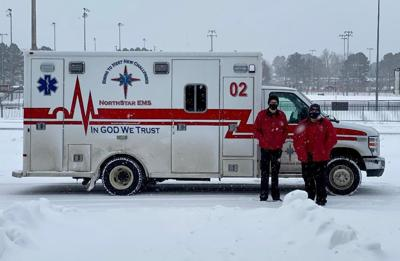 NorthStar put studded tires on ambulances for snow traction