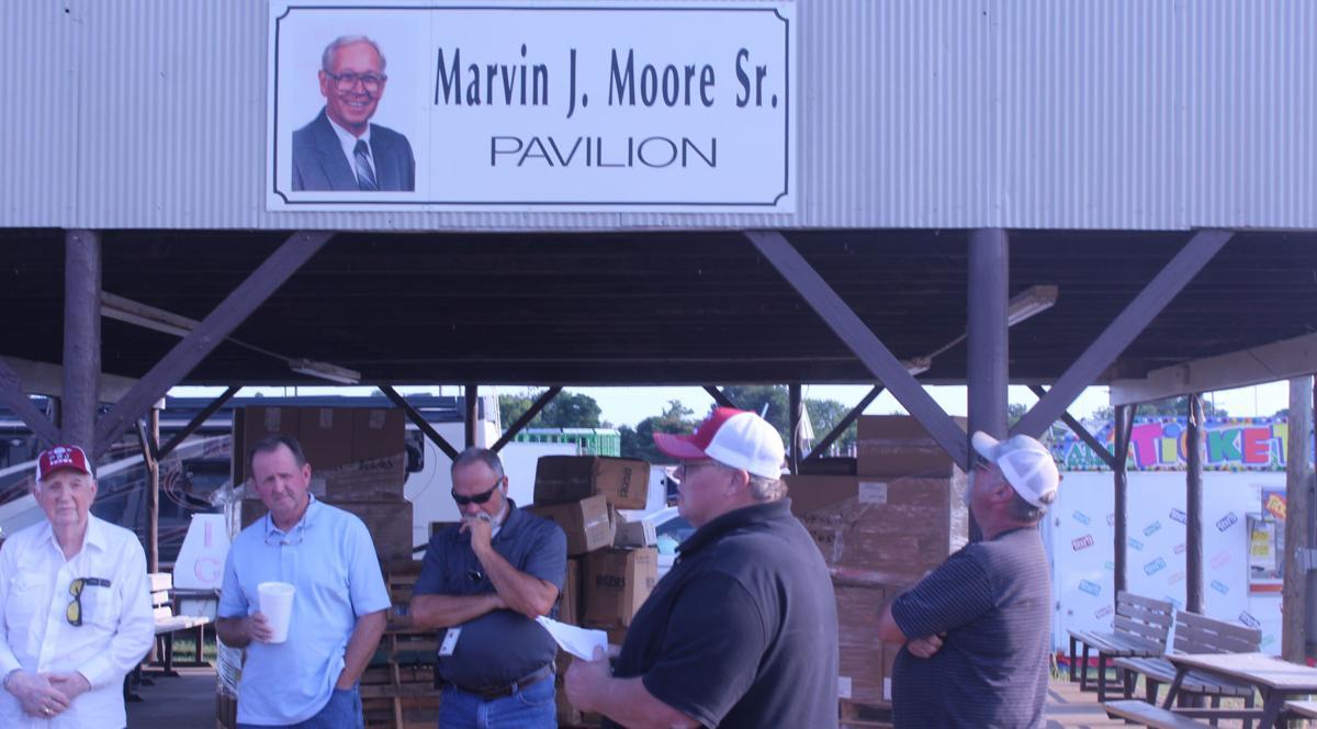 Honoring longtime fair board member William J. Moore Sr.