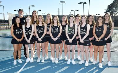 Harding Lady Bisons tennis team