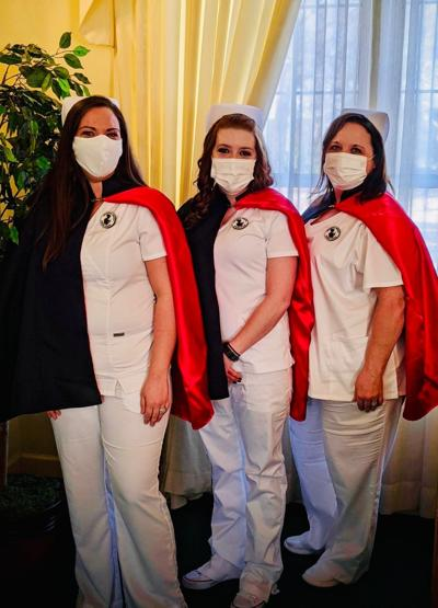 Arkansas Nurses Honor Guard in Searcy