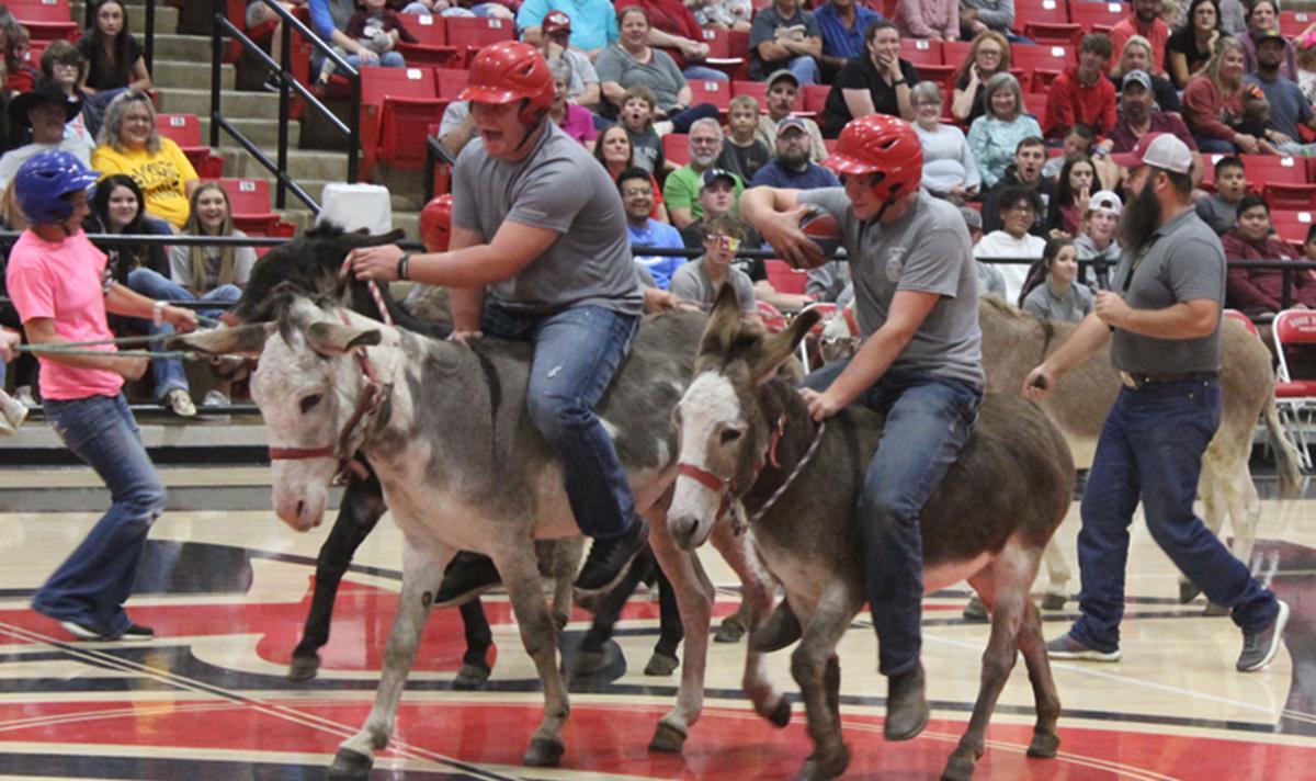 Donkey Basketball at Rose Bud High School