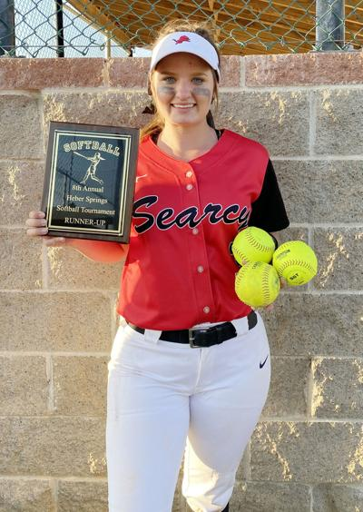 Searcy's Emilee Knighton hits three home runs in tournament