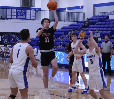 Searcy's Jack Stafford scores 11 against Greenbrier