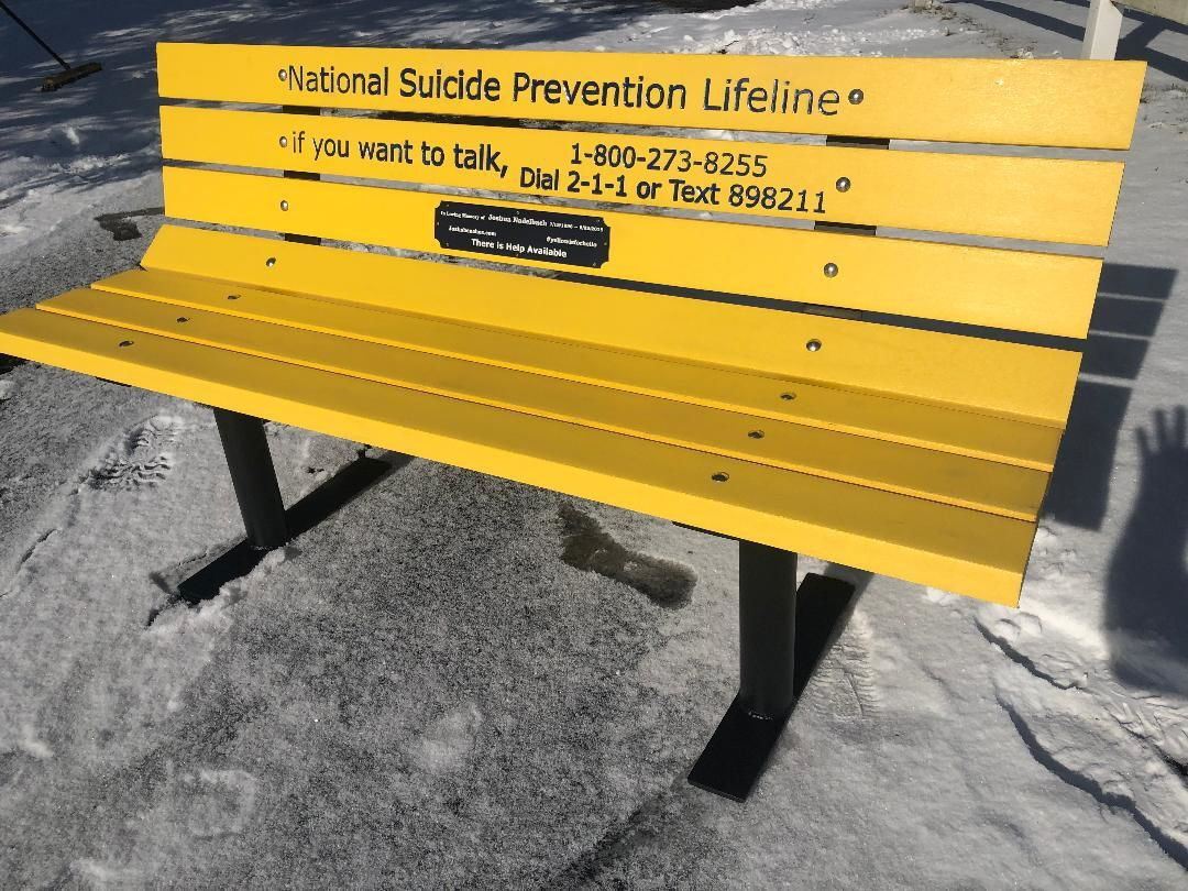 Yellow bench coming to Berryhill Park