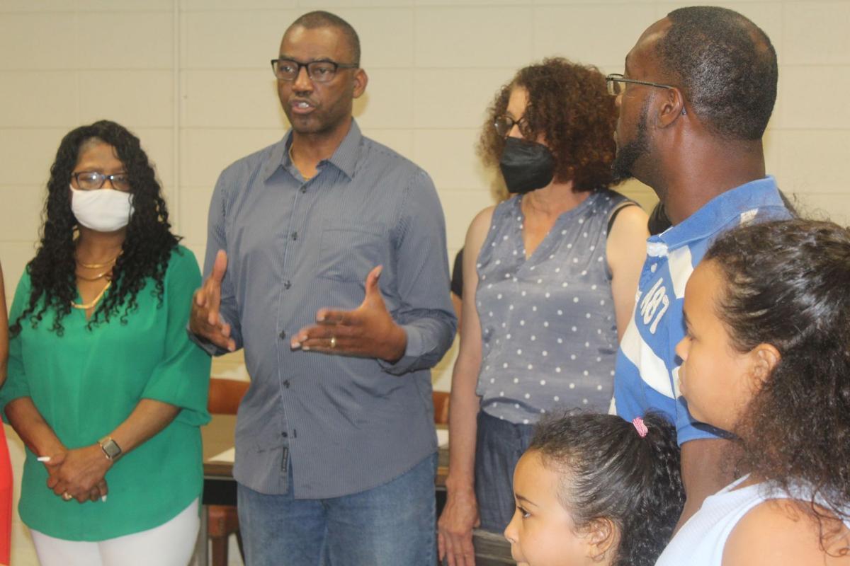 Pastor speaks at Kenyatta Haynes Day