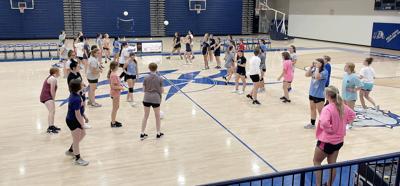 First volleyball team