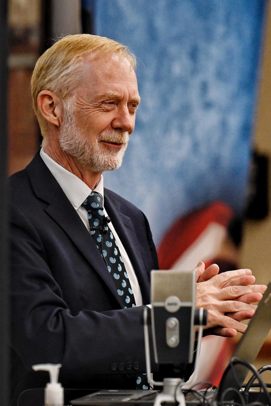 Civil rights cold case author Jerry Mitchell lectures at Harding University