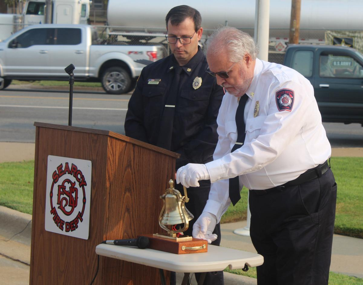 Ringing bell on 9/11 to remember lives lost