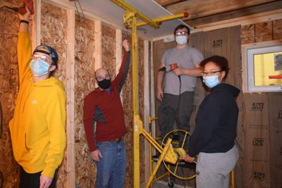 BOCES students assist Habitat for Humanity