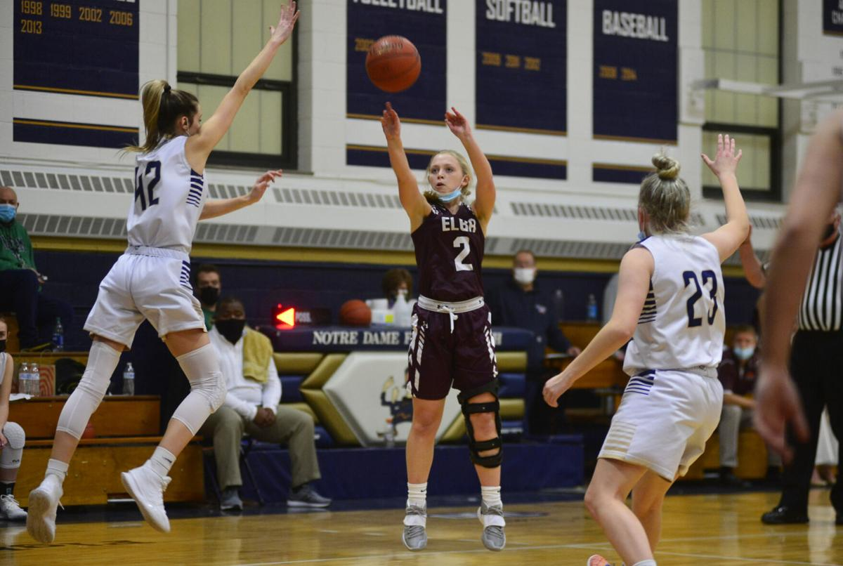 Elba survives scare to beat ND