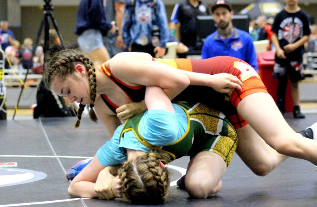 Former Kendall wrestling star Kruger watching daughter excel in same sport
