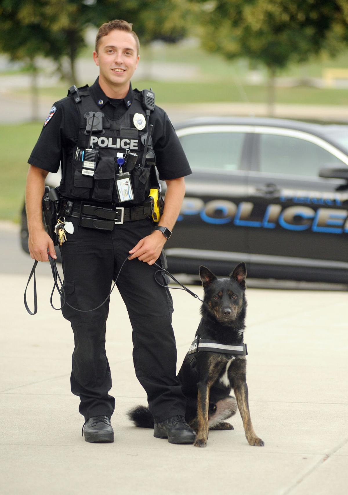 K-9 dog reassigned after nipping Perry Rotary president