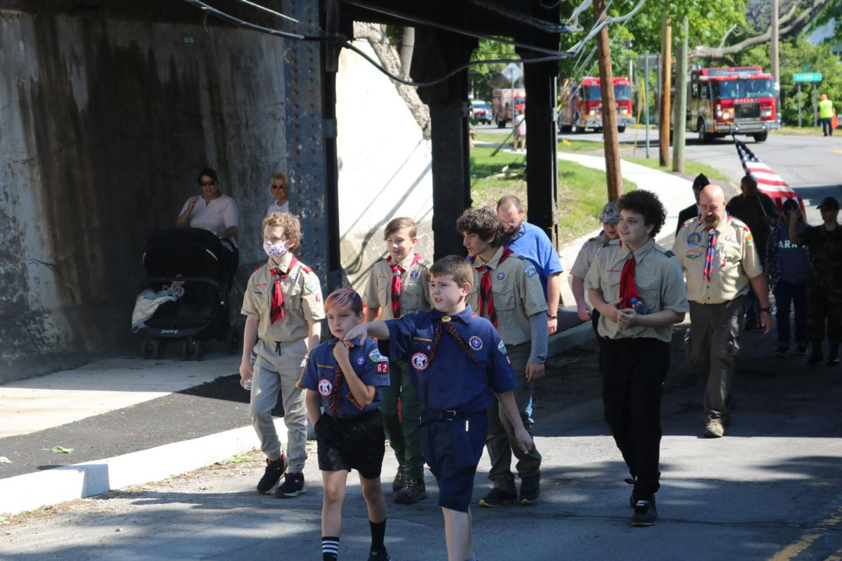 Holley commemorates Memorial Day