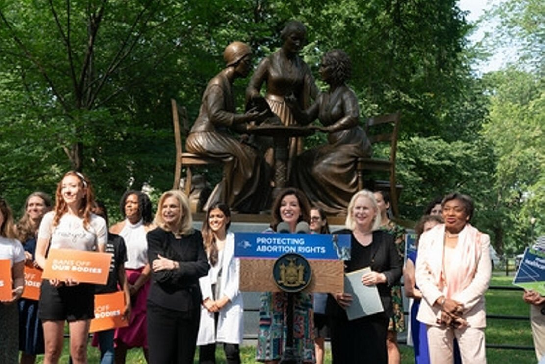 New York officials call Texas abortion law 'shocking'