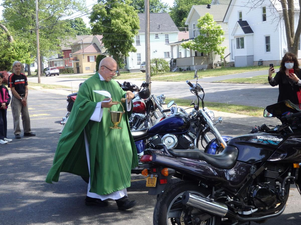 A two-wheel blessing