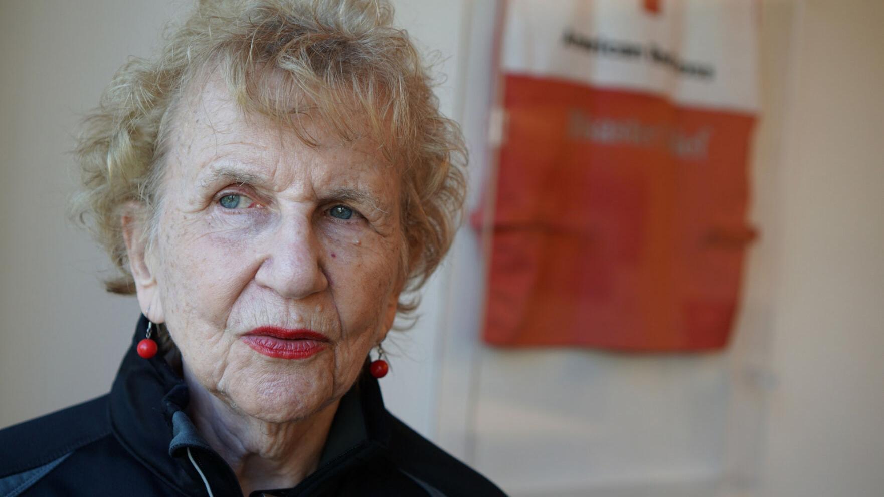 Red Cross volunteer, 91, calls her 3 decades of service 'best job I've ever had'