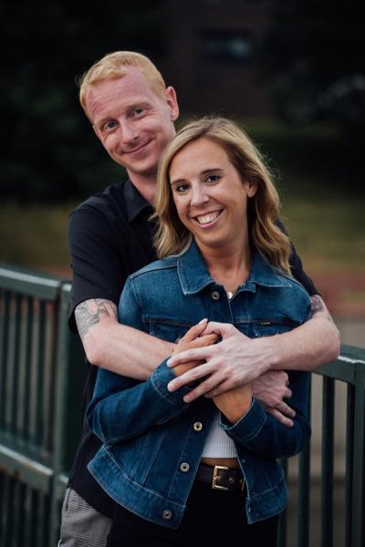 Tara Pocock and Greg Freitag