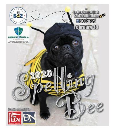 2020 Scripps WNY Regional Spelling Bee program