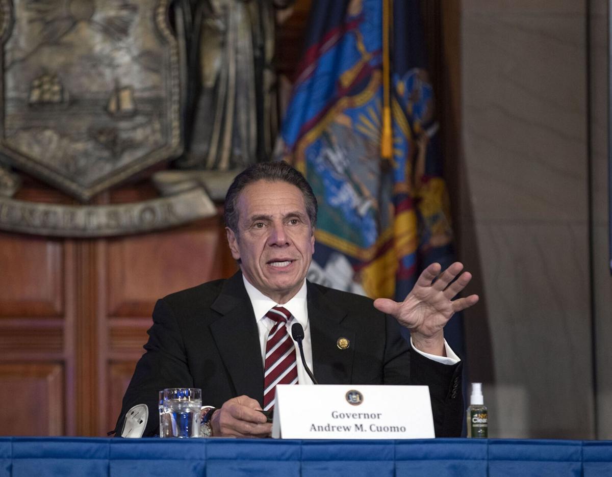 NY lawmakers debate Cuomo's resignation