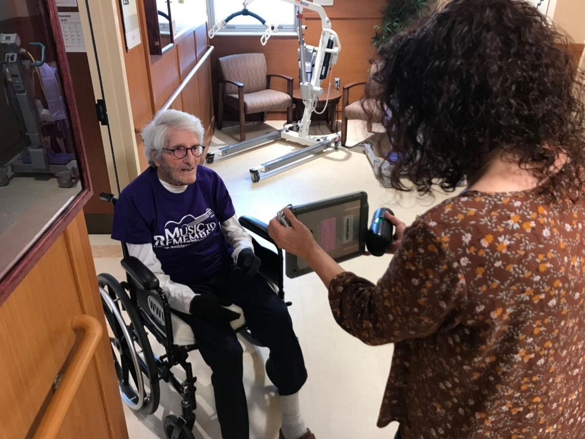 Batavia veterans front and center for virtual concert MUSIC TO REMEMBER: Robin Grandin, Jackie Volk entertain residents at VA facility Tuesday