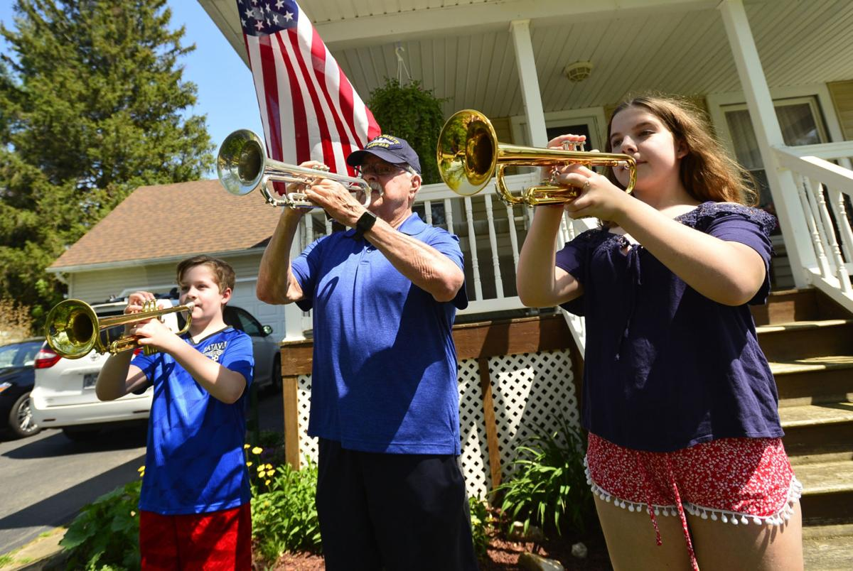 Area buglers join 'Taps Across America' effort
