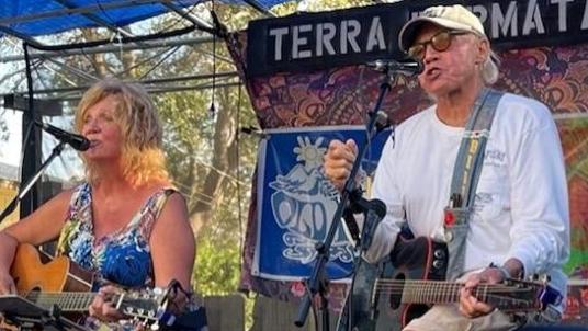 Old Hippies go on location for afternoon 'Home to Home' concert