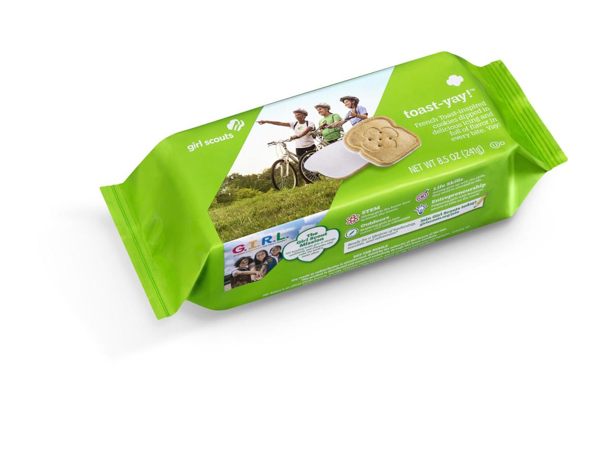 Scouts debut new cookie for annual sale