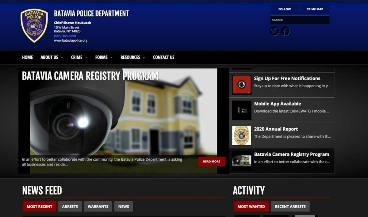 New site gives arrest info