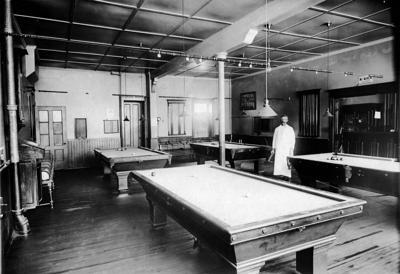 Billiards was 'on cue' in Albion
