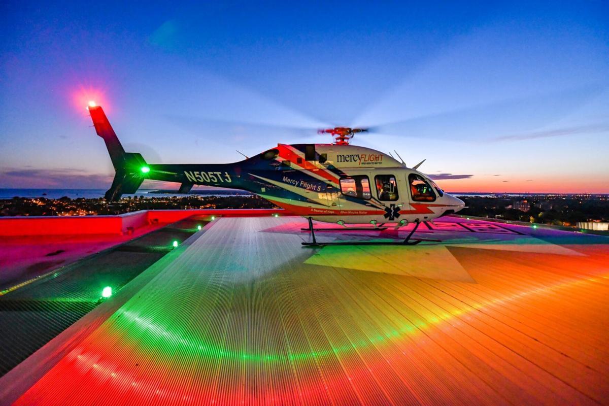 Mercy Flight celebrates 40 years