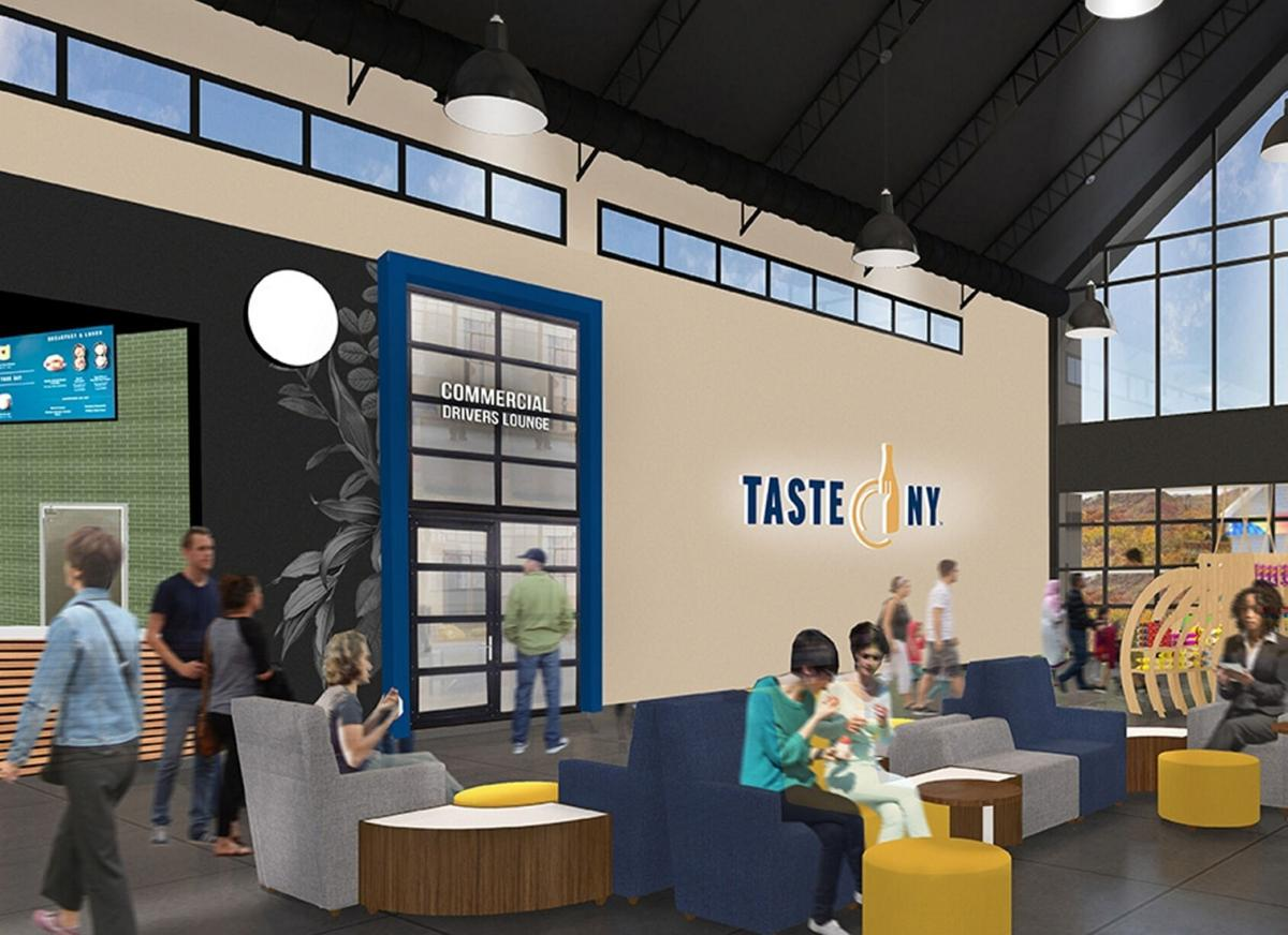 Charting a new course Thruway's 'new travel experience' begins in Pembroke