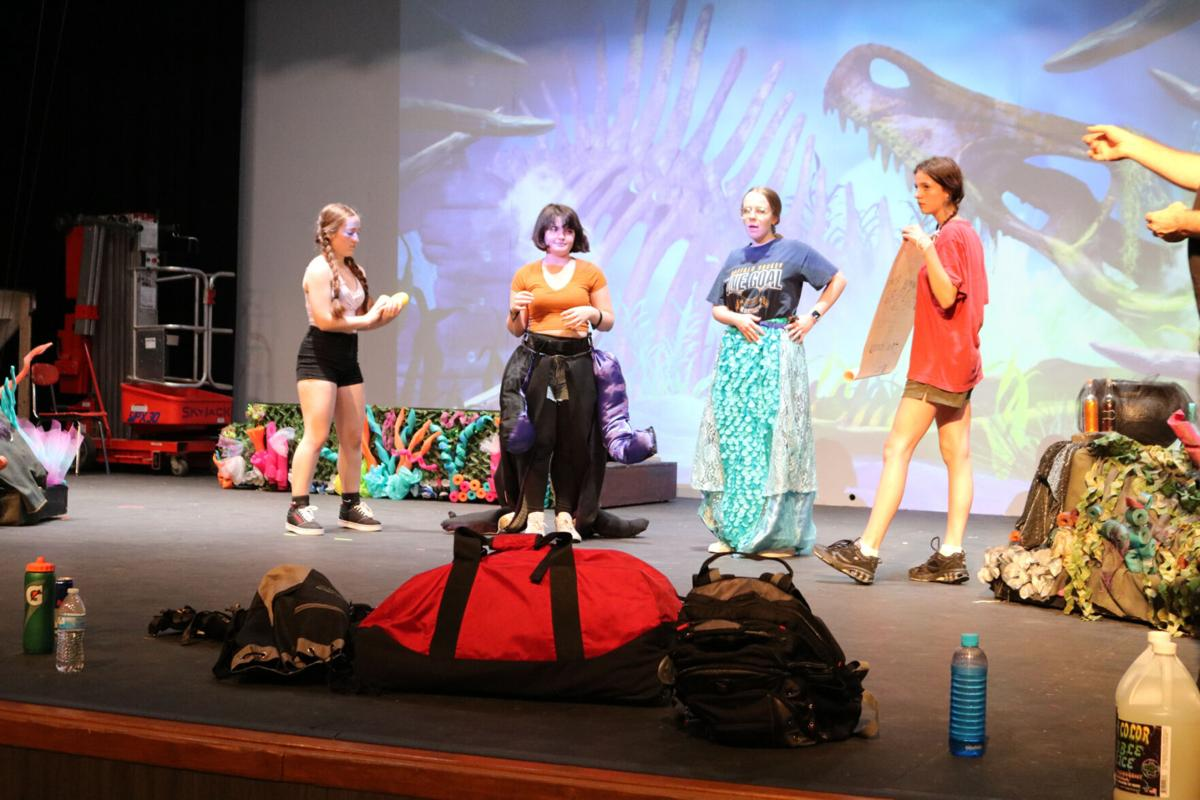 Little Mermaid takes center stage