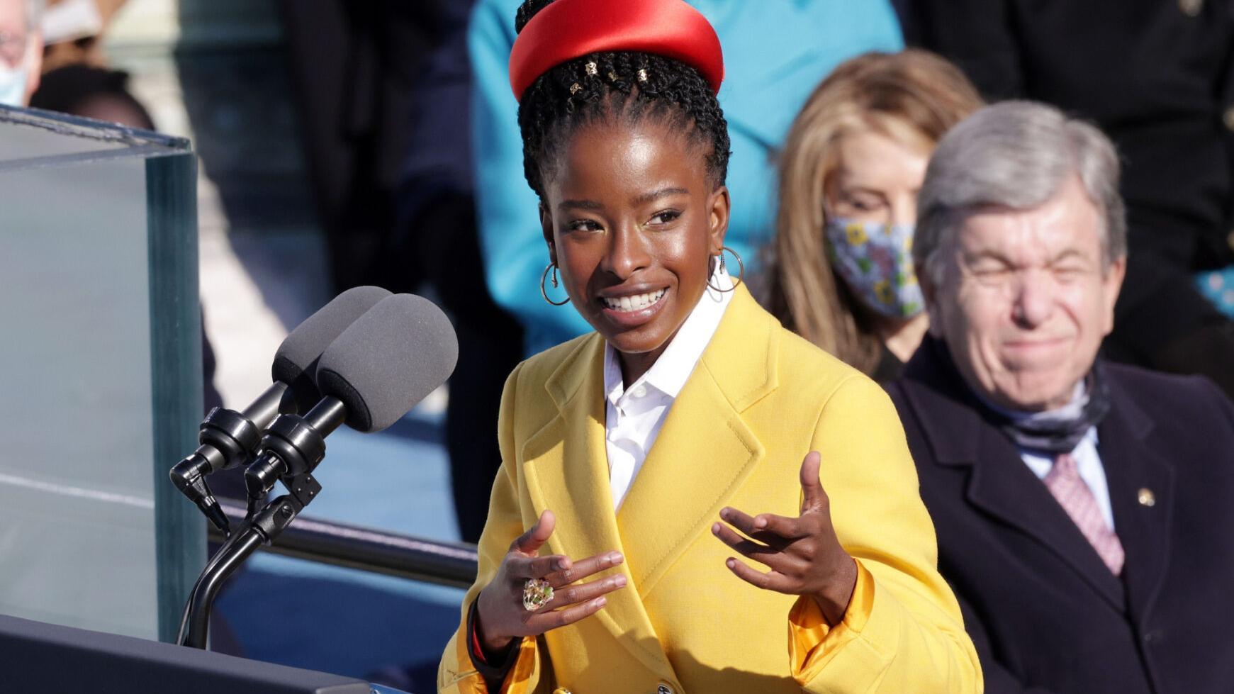 'Make the dream exist': How Amanda Gorman became an inauguration sensation