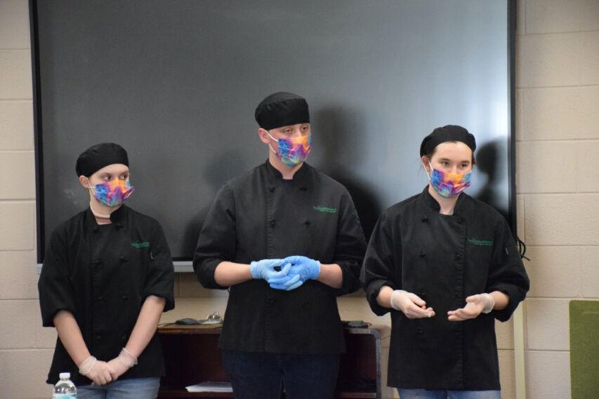 NASA Culinary Challenge tests Batavia CTE trio's skills