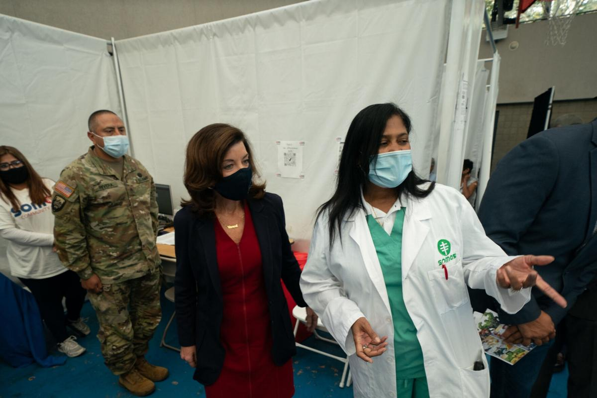 Hochul stands firm on vaccines