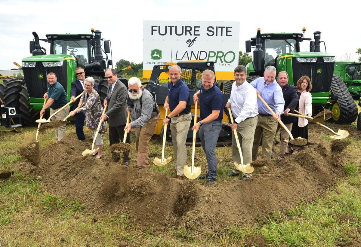LandPro groundbreaking kicks off $10M project