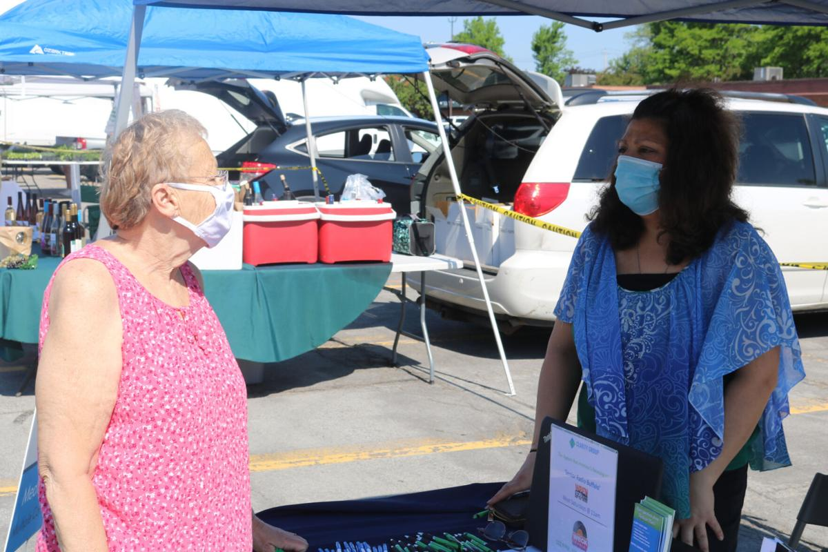 Crowd returns to Genesee Country Farmers' Market BATAVIA: First day goes pretty smoothly amid ongoing COVID-19 pandemic, manager says