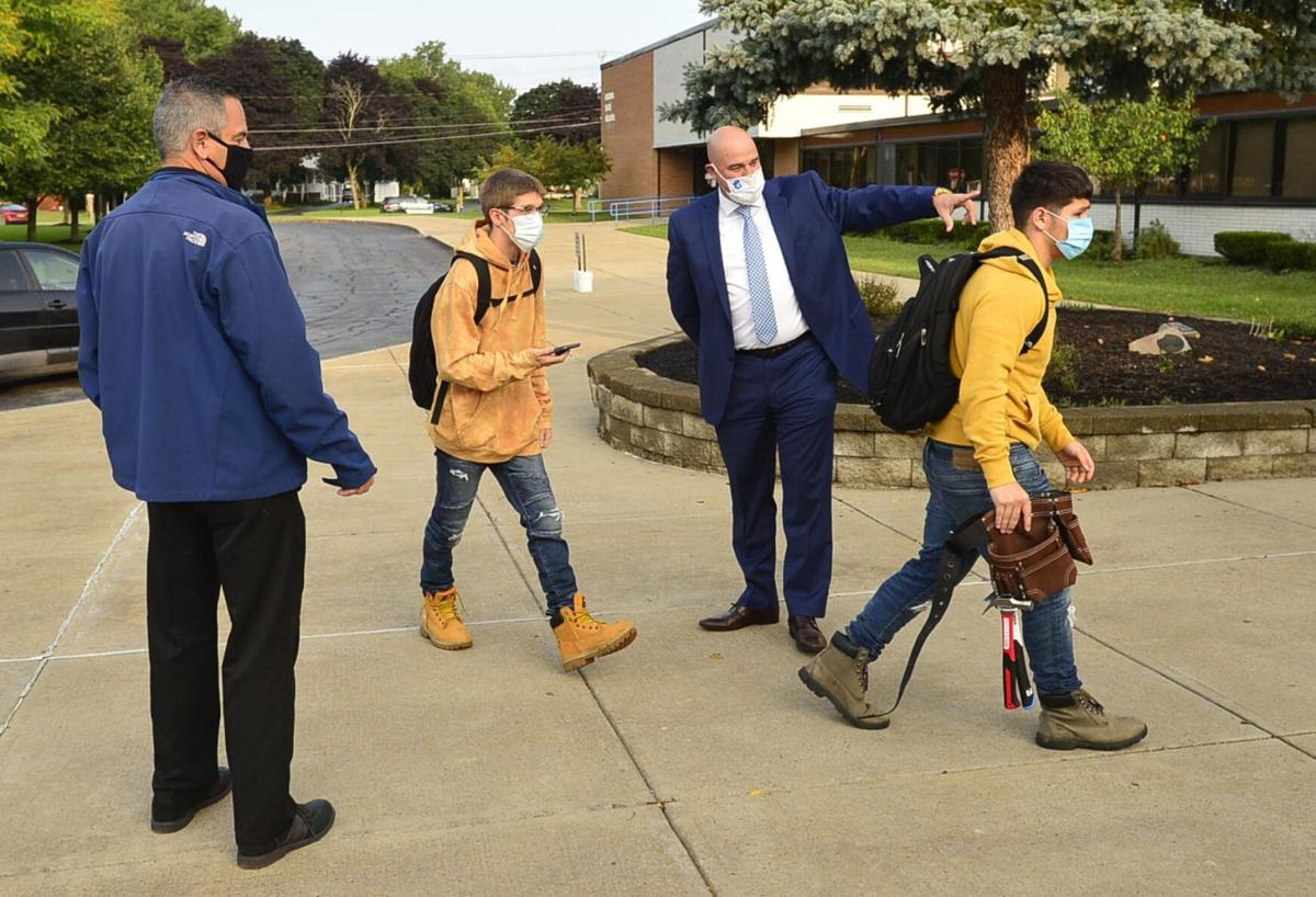 BCSD students back after 6 months