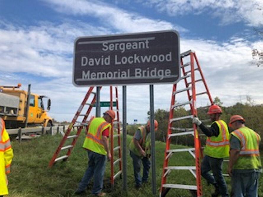Pavilion resident honored with bridge dedication