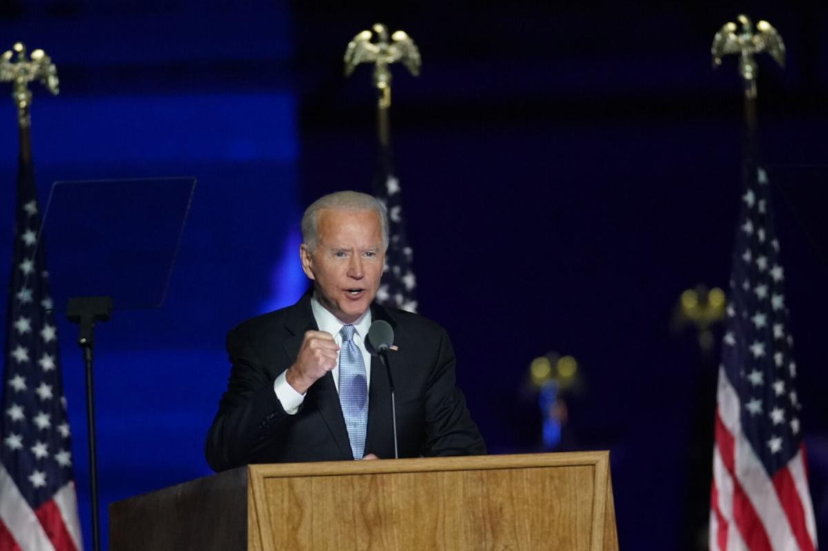 Joe Biden will take helm of a nation divided