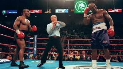 Holyfield, 57, staying ready just in case Tyson wants another piece