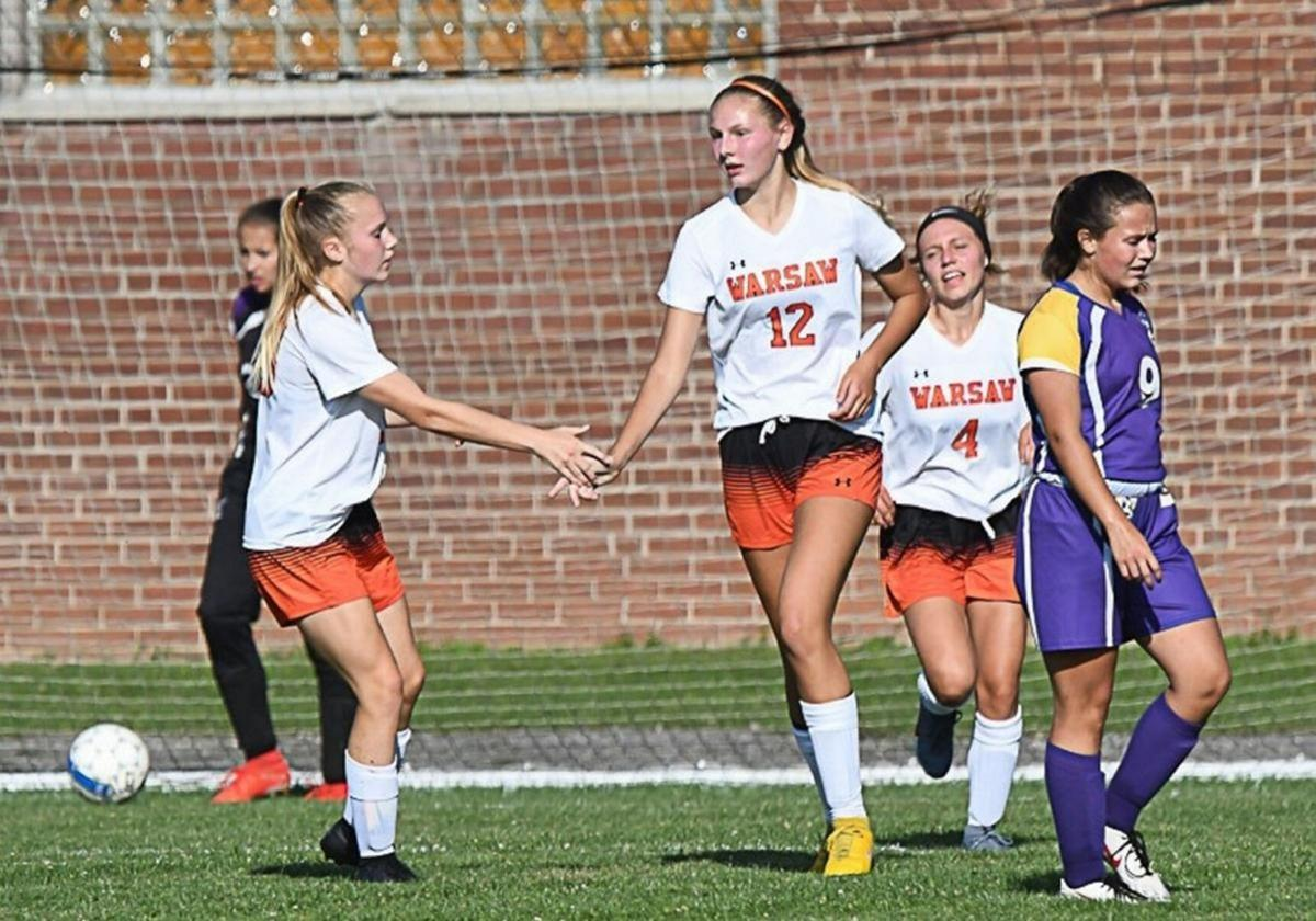 Warsaw girls heading into fall with high hopes