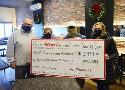 Pizza purchases help battle against cancer