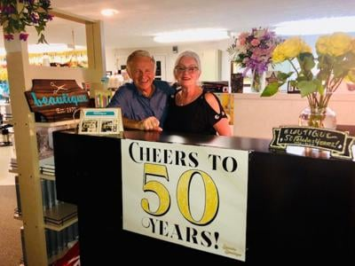 'Cheers to 50 years!'