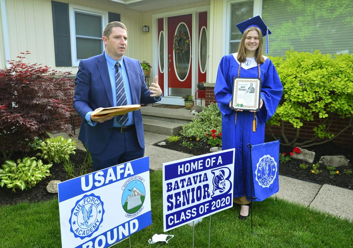 Senior celebrates early graduation AWARDS NIGHT: As 75 students individually receive awards, Maggie Andersen also picks up her diploma